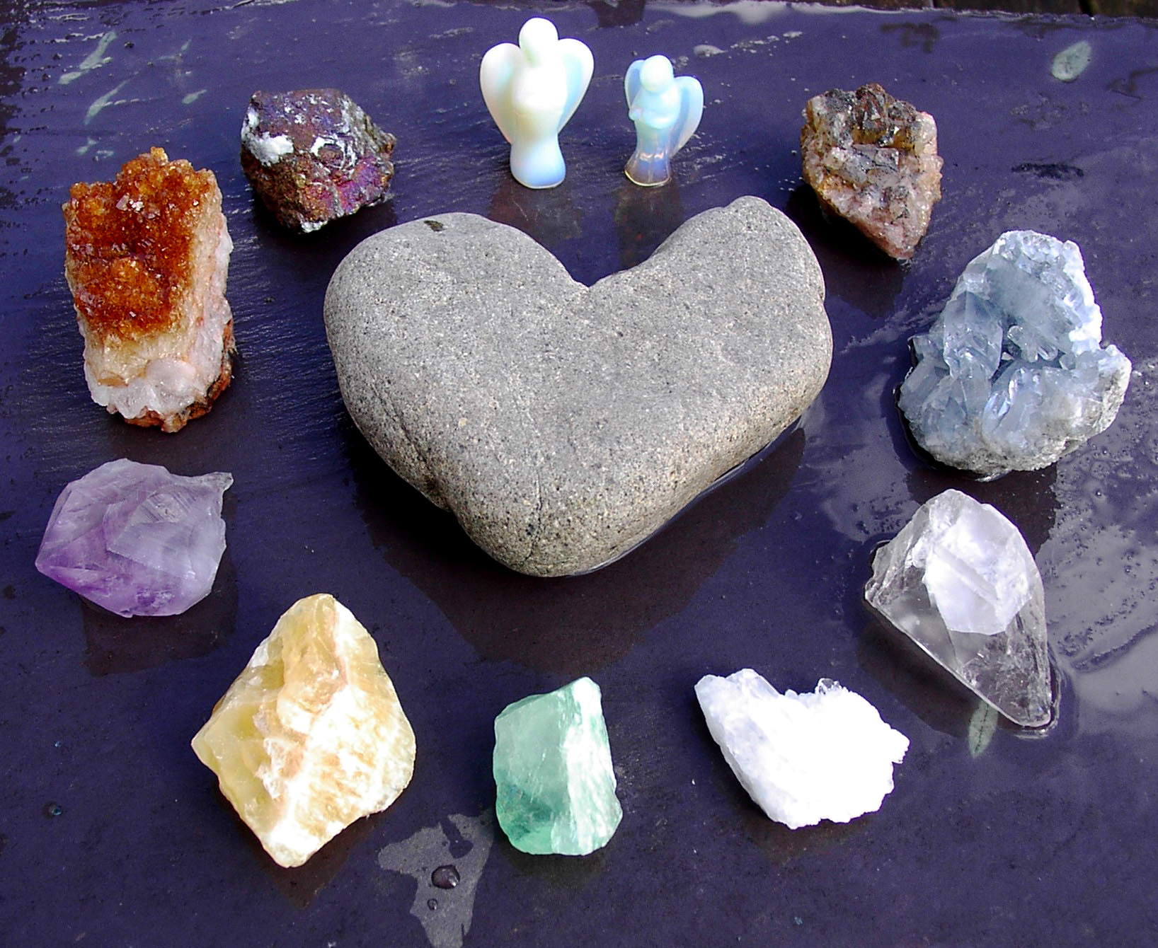 healing metaphysical properties of crystals and